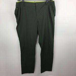 Eddie Bauer Women's Voyager Pants Green 18 N620